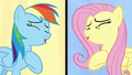 Fluttershy and Rainbow sing their hearts out S6E11.png