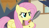 Fluttershy ready to fight for her friends S9E2