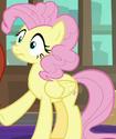 Fluttershy with Pinkie Pie mane ID S8E13