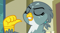"Gabby ""first griffon ever to get a cutie mark!"" S9E19"