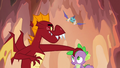 Garble sees Ember swooping down at him S6E5.png