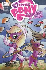 MLPFIM Comic 14 Jetpack Cover