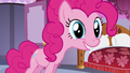 """Pinkie """"what warrants such a welcome!"""" S5E14.png"""