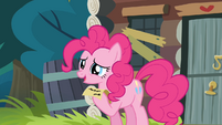 Pinkie 'Oh, right, sorry!' S4E09
