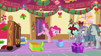 Pinkie Pie excitedly clicks her knees together MLPBGE