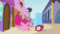 Pinkie Pie hitting the ground after jumping S03E01.png
