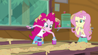 Pinkie Pie reaching into the sprinkle jar EG4