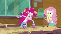 Pinkie Pie reaching into the sprinkle jar EG4