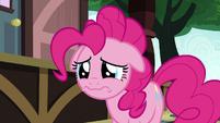 Pinkie Pie sad that Maud left Ponyville S7E4
