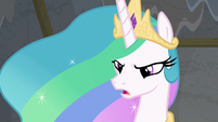 "Princess Celestia ""I'm upset because"" S8E7"