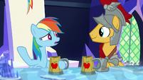 Rainbow Dash -isn't that a good thing-- S7E26