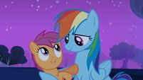 Rainbow Dash and Scootaloo -it's a deal- S03E06