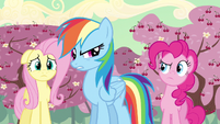 Rainbow Dash tomorrow huh S2E14