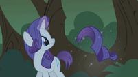 Rarity levitating her severed tail S1E02