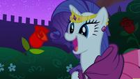 S01E26 Rarity jeszcze nie wie dla kogo jest ta róża
