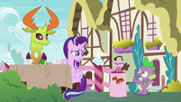 Spike -whatever Starlight says I was doing- S7E15