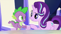 "Starlight ""increases the Crystal Heart's power?"" S6E1"