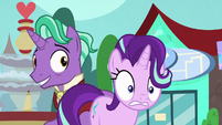 Starlight Glimmer looking panicked S8E8