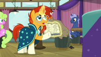 "Sunburst ""must be specific and exact"" S9E16"