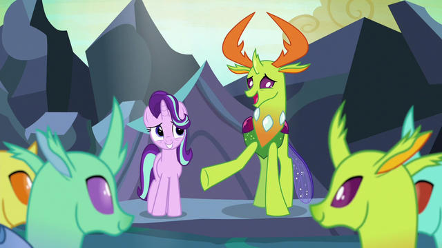 "File:Thorax ""Starlight, how do you feel about"" S7E1.png"