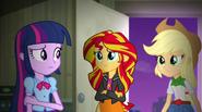 Twilight, Sunset, and AJ confused EG2