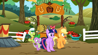 Twilight Applejack egad S02E15