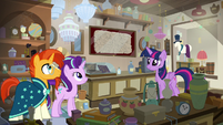Twilight shows the map to Sunburst and Starlight S7E24
