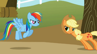 Applejack prove what S01E13