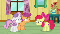 Cutie Mark Crusaders back on the floor in confusion S6E4