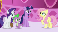 Fluttershy --How was your book-sort-cation--- S5E22