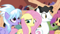 Fluttershy feeling uncomfortable S2E22.png