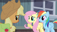 Fluttershy so glad S2E14
