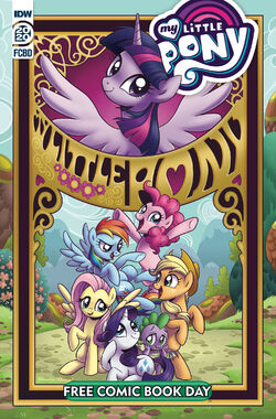 MLP Free Comic Book Day comic cover