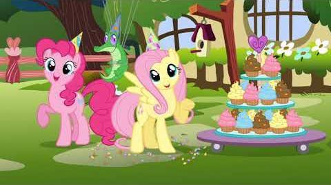 My Little Pony Grattis på födelsedagen!