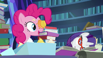 "Pinkie Pie ""you figured something out?"" S7E25"