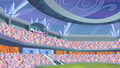 Pinkie Pie hopping in the top row S4E24.png