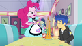 Pinkie Pie stretching Flash's grilled cheese EGDS24.png