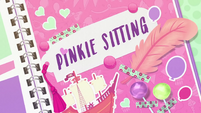 Pinkie Sitting title card EGDS3