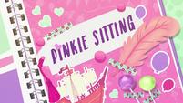 Pinkie Sitting title card EGDS3