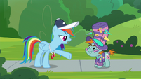 """Rainbow """"you don't even go to this school"""" S9E15"""