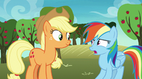 "Rainbow Dash ""look after them?"" S8E5"