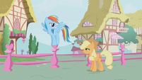 "Rainbow Dash ""there you are"" S1E04"