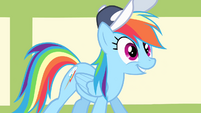 Rainbow Dash -up for the challenge- S4E05