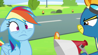 Rainbow Dash frazzled S6E7