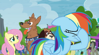 Rainbow Dash losing hope S4E22
