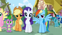 Rainbow Dash sad S1E2