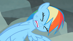Rainbow Dash struggling to pull free S2E07