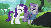 "Rarity ""glad to see that you like the pouch"" S6E3"