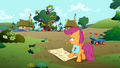 Scootaloo drawing a map S01E18.png