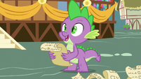 Spike -I invited Dragon Lord Ember- S7E15